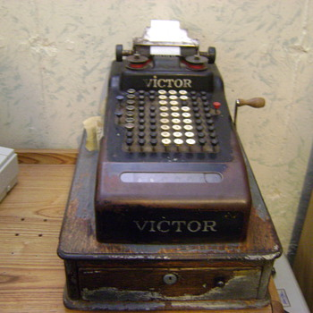 1919-1920 Victor Cash Register