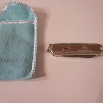Tiffany Sterling Silver Swiss Army Knife - Tools and Hardware