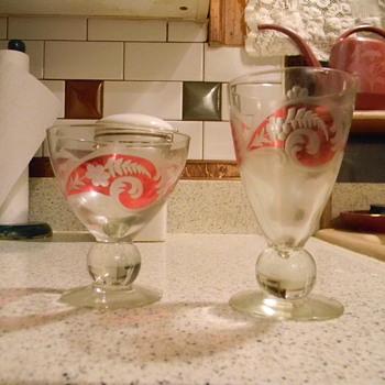Old Glassware - Glassware
