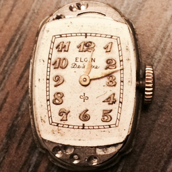 Elgin Gold Filled Watch