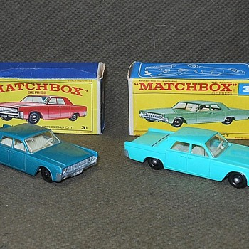 Matchbox Lincoln Continental #31