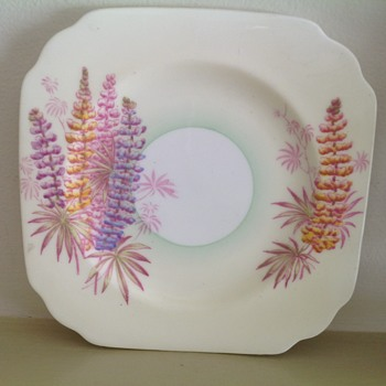 Old Royal Bone China Plate - China and Dinnerware