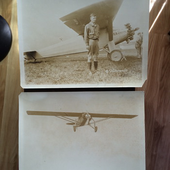 SPIRIT OF ST LOUIS - CHARLES LINDBERGH - PHOTOGRAPHS-UNDERWOOD