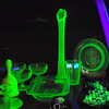 "Vaseline ""URANIUM"" glass mixed"