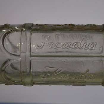 Another Puzzling Coca Cola Bottle, Arcadia Florida?