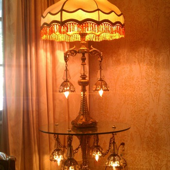 6 foot tall floor lamp - Lamps