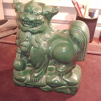 foo dog lamp - Lamps