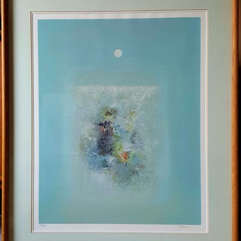 "Limited Edition Serigraph Print ""Tranquility"" by Seikichi Takara - Visual Art"