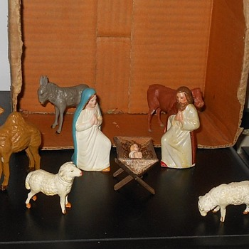 My Grandparents Nativity Scene