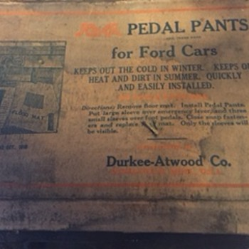 Pedal Pants for Ford Cars - Classic Cars