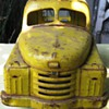 1950s yellow Structo toy truck  