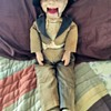 Appears to be OLD Willie Talk Dummy Doll