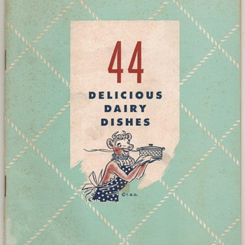 1946 - Borden&#039;s Recipe Booklet - Books