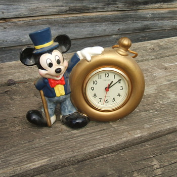 1990 Seiko Mickey Desk Clock - Clocks