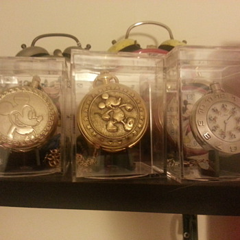 time pieces... on display - Pocket Watches