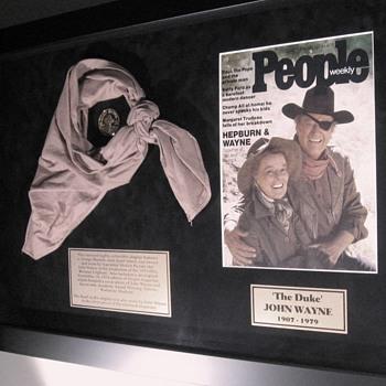 John Wayne . . . Western Scarf