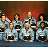 1986 - Space Shuttle Challenger Crew Photo