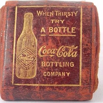 1907 Coca Cola change purse!! - Coca-Cola