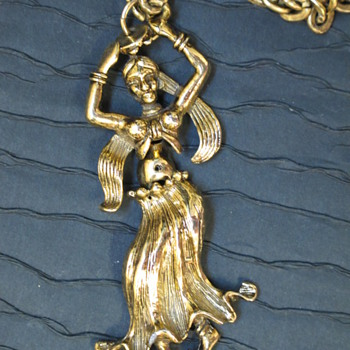 Sweet Belly Dancer Necklace - Costume Jewelry