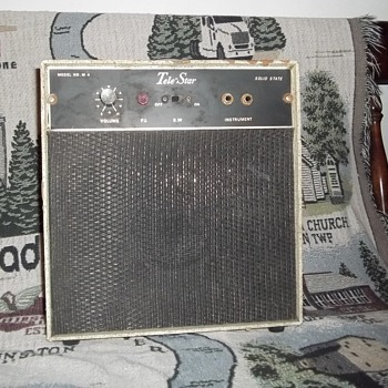 Old tele star amp
