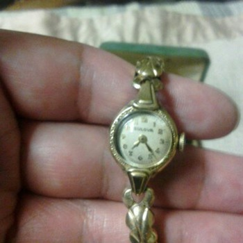 1918 bulova woman watch #009149