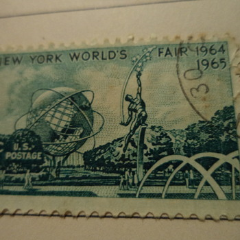 1964-1965 New York World's Fair U.S. postage stamp
