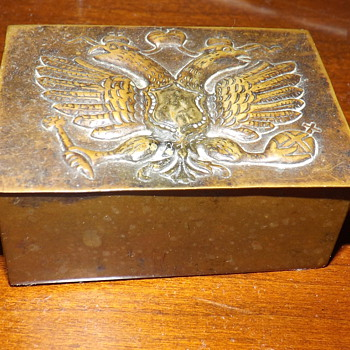 GRANDFATHER'S SMALL TIN BOX