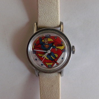 Timex Superman Wrist Watch Circa 1976