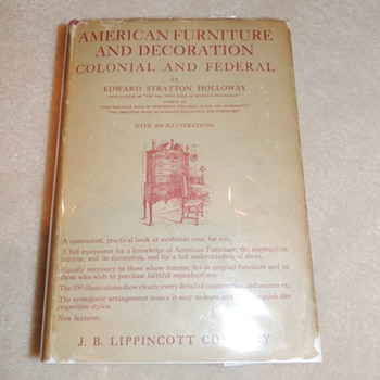 Three books on American Furniture - Books