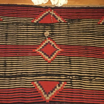 Old chiefs blanket