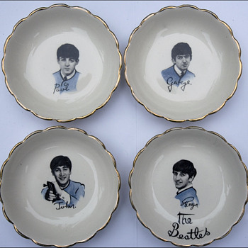 Beatles Candy  Dishes - Music