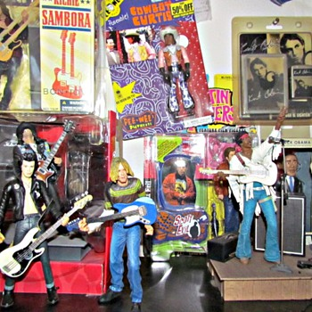 My Mostly Music Action Figures - Music