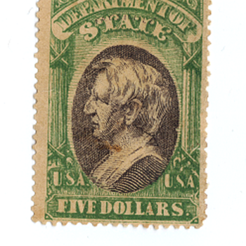 $5 Seward US Stamp - Stamps