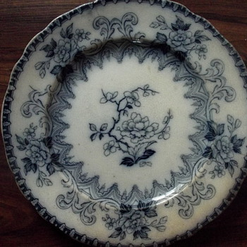 Gothic CM&S plate - China and Dinnerware