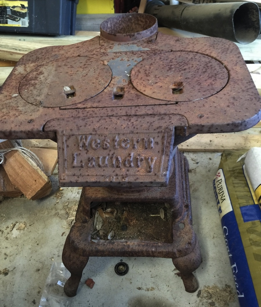 Western Laundry Cast Iron Stove Collectors Weekly