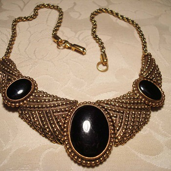 Collection of Runway Style Costume Jewelry Collars - Costume Jewelry