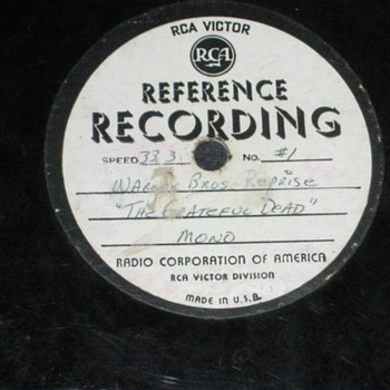 GRATEFUL DEAD DEMO REFERENCE RECORD
