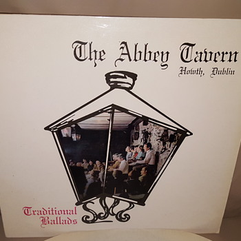 "The Abbey Tavern - Irish Traditional Ballads - 12"" LP vinyl record #vinyl #promo #private #press #record"