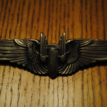 1939-1945 Air Gunner USAAF Wings - Military and Wartime