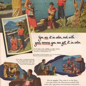1952 - KodaChrome Film Advertisements - Advertising