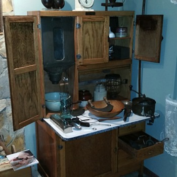 mcdougal hoosier style cabinet - Kitchen