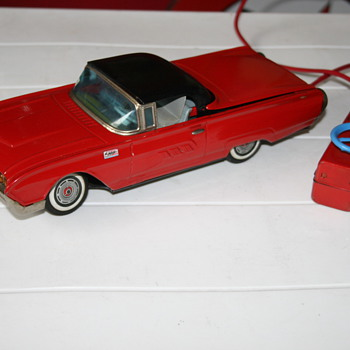 Ford Thunderbird Battery Tin Toy  YONEZAWA-CRAGSTAN
