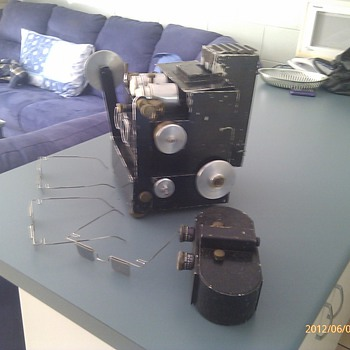 3D movie camera and projector  - Cameras