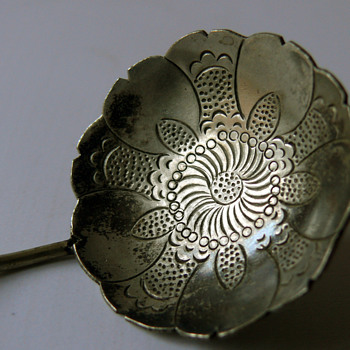 russian silver spoon - Sterling Silver