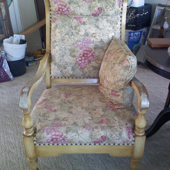 Antique chair needs a name_era - Furniture