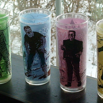 Universal Monster Glasses - Glassware