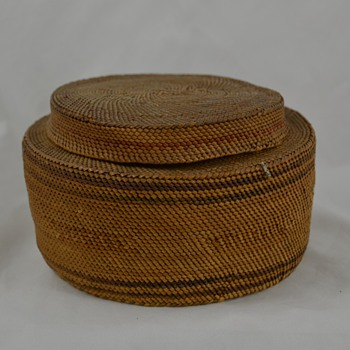 Very Old Native Basket