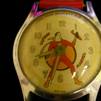 Captain Marvel Watch - Wristwatches