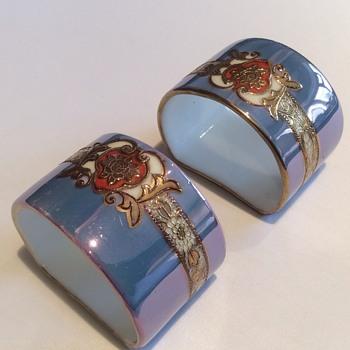 Stunning napkin rings - Asian