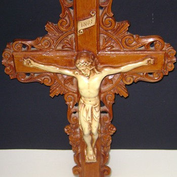 Wooden Carved Crucifix